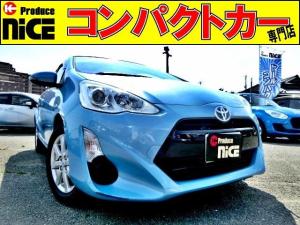 トヨタ アクア G 純正SDナビ・Bluetooth・ワンセグTV・シートヒーター・バックカメラ・クルコン・15AW・オートエアコン・プロジェクターヘッドライト・ウインカードアミラー・中期型