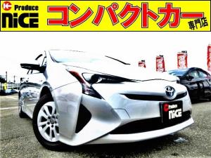 トヨタ プリウス E ドラレコ・純正SDナビ・Bluetooh・ワンセグTV・ETC・LEDヘッドライト・プッシュスタート・オートエアコン・スマートキーウインカードアミラー・アイドリングストップ
