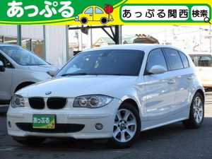 BMW 118i 社外HDDナビ ETC Pスタート 禁煙 HID