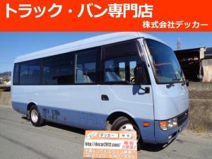 三菱ふそう ローザ マイクロバス ショート 25名乗 自動扉 ETC NOX