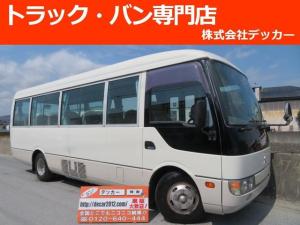 三菱ふそう ローザ マイクロバス 29人乗 6MT 自動ドア モケットシート