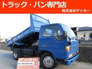 マツダ タイタントラック 3トン 強化ダンプ 高床 あゆみ掛け フロア5MT 3ペダル