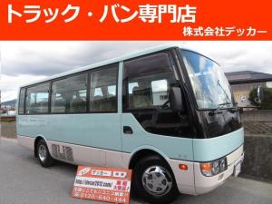 三菱ふそう ローザ マイクロバス 26人乗り SA 自動ドア フロア5MT