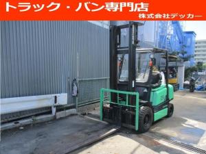 日本その他 日本 住友 最大荷重2500kg ディーゼル ハイマスト アワメーター7432.2h 最大揚高4015MM  ツメ長さ1800mm 2段マスト 前輪チューブタイヤ 後輪ノーパンクタイヤ 車両重量4060kg