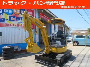 日本その他 日本 コマツ 油圧ショベル  アワーメーター1699.5h 後方超小旋回 再塗装済 外寸L3750 W1450 H2520