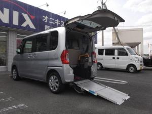 ダイハツ タント 福祉車輛スローパ Lリアシート脱着式