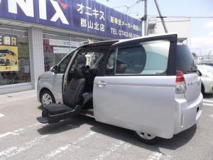 トヨタ スペイド F福祉車輛助手席リフトUPシートナビTV・ETC Bカメラ