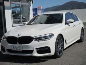 BMW 5シリーズ 523d Mスポーツ イノベーション&コンフォートパッケージ 黒皮エアシート 360°カメラ アクティブクルーズ フルセグナビ ディスプレイキー スマートキー
