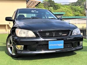 トヨタ アルテッツァ RS200 リミテッドII 最終型/6速MT/タイベル交換済/エアロ/HID/ワンオーナー車/HDDナビ/