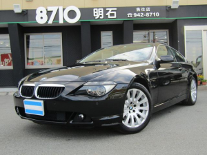 BMW 6シリーズ 630i ナビ サンルーフ パワーシート ETC