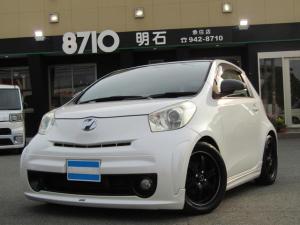 トヨタ iQ GAZOO RACING TUNDE by MN 社外ナビ/TV 100台限定車 バックカメラ モデリスタエアロ・マフラー RAYS16インチAW