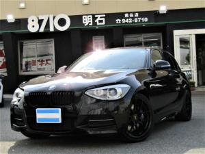 BMW 1シリーズ M135i 純正ナビ 社外TV バックカメラ パークセンサー 黒革シート パワーシート ブラックキッドニーグリル BBS18インチアルミ プッシュスタート