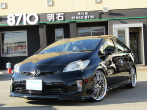 トヨタ プリウス S ナビTV バックカメラ 社外エアロ  ダウンサス ETC HIDヘッドライト 20インチアルミ