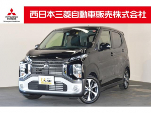 三菱 eKクロス T 届出済未使用車 メモリーナビ デジタルルームミラー
