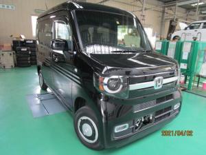 ホンダ N-VAN+スタイル ファン・ホンダセンシング 4WD オーディオレス バックカメラ付