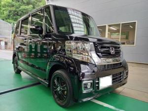 ホンダ N-BOXカスタム G SSブラックスタイルパッケージ バックカメラ 両側自動ドア ETC スマートキー2個 4WD シートヒーター