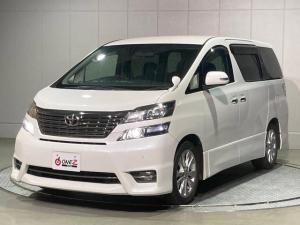 トヨタ ヴェルファイア 2.4Zプラチナムセレクション 禁煙 フリップダウン 両電動