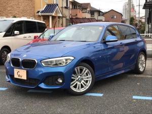 BMW 1シリーズ 118i Mスポーツ ワンオーナー インテリジェントセーフティー LEDヘッドライト 純正ナビ フルセグTV バックカメラ スマートキ―