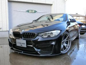 BMW M4 MDCT M4クーペ IPE可変マフラー 可変Mサスペンション 20AW KWアジャストスプリング カーボンリップ&Rウイング