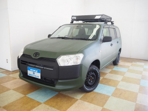 トヨタ プロボックス GL 4WD マットペイント 新品ルーフラック MTタイヤ SDナビ地デジ バックカメラ アウトドア仕様