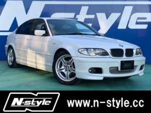 BMW 3シリーズ 318i Mスポーツ E46後期 ETC 社外マフラー 同色モール