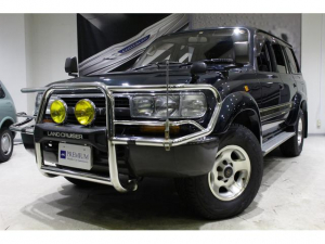 トヨタ ランドクルーザー80 VXリミテッド ワンオーナー カンガルーバンパー サンルーフ