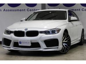 BMW 3シリーズ 320i エナジーエアロ・20インチアルミ HDDナビ バックカメラ パワーシート アイドリングストップ プッシュスタート ETC