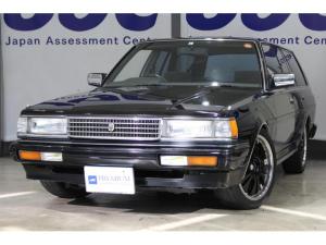 トヨタ マークIIワゴン LG ブラックニューペイント タイミングベルト交換済 社外17インチアルミ ローダウン