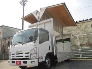 いすゞ エルフトラック 3トン積み アルミウイング Rカメラ ETC