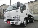 いすゞ/エルフトラック フルフラットロー強化ダンプ SGグレード 3トン積み4ナンバ
