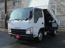 いすゞ/エルフトラック 4WD フルフラットロー強化ダンプ 2トン積み4ナンバー