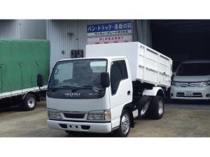 いすゞ エルフトラック  積載3000kg/3t深ダンプ/5速マニュアル/排ガス装置なし/26