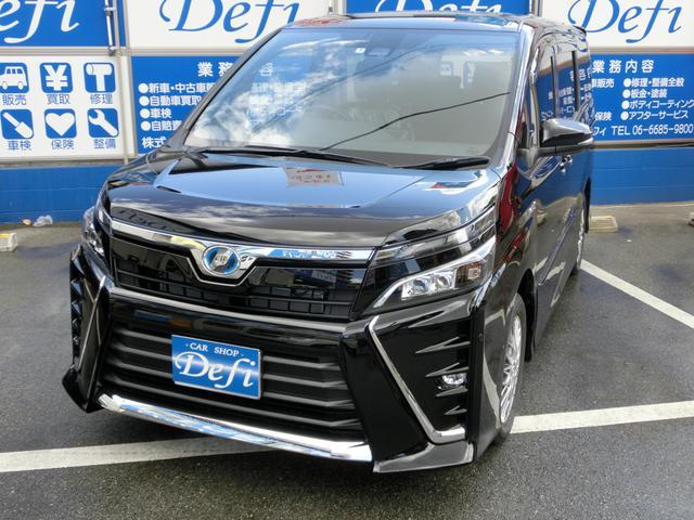 マイナーチェンジされた新型VOXY・ハイブリッドZS 新車未登録です。