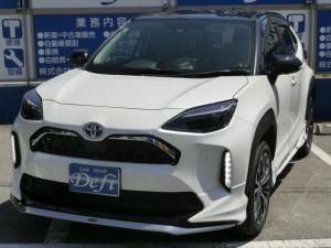 トヨタ ヤリスクロス ハイブリッドZ 新車未登録 モデリスタエアロキット ツートンカラー