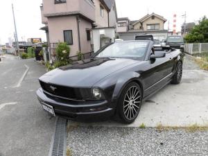 フォード マスタング V6 コンバーチブル プレミアム 電動オープン 専用レザー