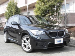 BMW X1 sDrive 18i Mスポーツパッケージ パノラマサンルーフ 純正18AW 社外ナビ 地デジ HDD DVD Pスタート