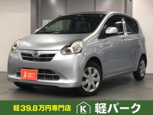 ダイハツ ミライース X 軽自動車 キーレス エコアイドル ディスプレイオーディオ エアバック エアコン パワーウィンドウ