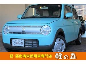 スズキ アルトラパン L 軽自動車 届出済未使用車 衝突軽減 スマートキー CVT