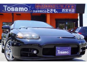 三菱 GTO ツインターボ 最終型/6速ミッション/4WD/上級グレード/メモリーナビ/フルセグ/APEXiマフラー/LEDライト/純正アルミホイール/純正リアスポイラー/キーレスキー/パワーシート/エアクリーナー