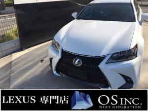 レクサス GS  300h/Ipkg/Original後期使用/ホワイトレザー/LEDヘッドライト/パワーシート/シートエアコン/シートヒーター/エアサスペンション/純正HDDナビ/フルセグ/Buletooth/
