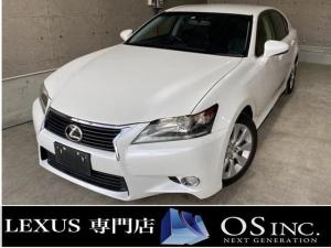 レクサス GS GS350 350/Ipkg/LEDヘッドライト/BLKレザーシート/パワーシート/シートエアコン/シートヒーター/オートライト/電動格納ミラー/DVD再生/純正HDDナビ/フルセグ/Buletooth/