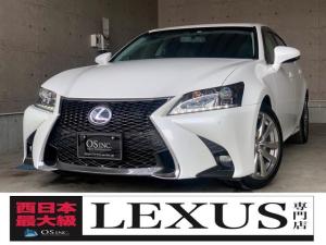 レクサス GS  450h/Ipkg/現行Fスポーツスピンドルグリル仕様/三眼LED/BLKレザー/シートメモリー/パワーシート/シートヒーター/シートクーラー/ETC/