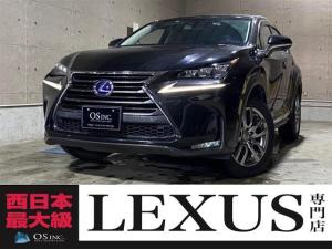 レクサス NX  300h/Ipkg/LED/電動格納ミラー/パワーシート/本革レザー/レーンキープアシスト/オートライト/ハンドルヒーター/Wエアコン/プッシュスタート/シートヒーター/レーダークルーズコントロール