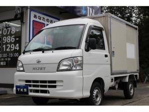 ダイハツ ハイゼットトラック カラー鋼板簡易保冷車 エアコン パワステ パワーウィンドウ