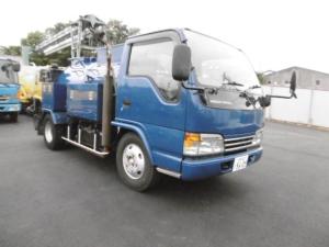 日産ディーゼル ベースグレード 兼松モービルジェット 圧力140kg/cm2 吐水量140L/min 高圧洗浄車