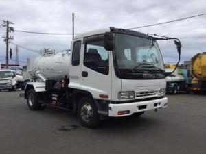 いすゞ フォワード モリタエコノス製4トン汚泥吸引車 積載3,200kg