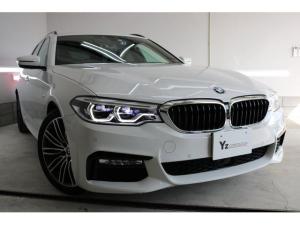 BMW 5シリーズ 530iツーリング Mスポーツ ハイラインパッケージ・インテリジェントセーフティ・1オーナー・ACC・黒本革シート・360度カメラ・ドラレコ・シートヒータ-