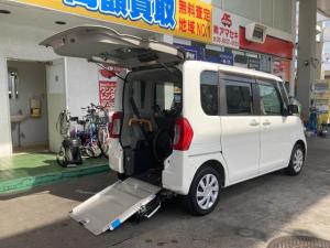 ダイハツ タント L スローパー リヤシート付 両側スライドドア エコアイドル ウインチ 福祉車両