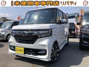 ホンダ N-BOXカスタム G・Lホンダセンシング 禁煙車 衝突軽減ブレーキ