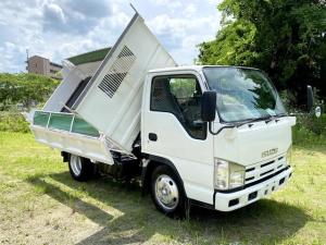 いすゞ エルフトラック  三転ダンプ 最大積載3トン 6速マニュアル
